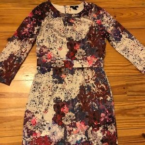 H&M Fun Splattered Floral Dress